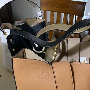 3 Kate Landry handbags